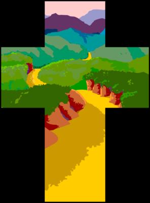 Image: Cross Pathway | Cross Image | Christart.com