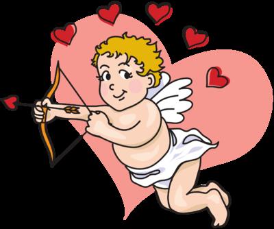 Image: Flying Cupid   Christart.com